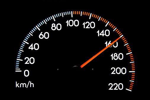 Number 100「Speedometer 160 kmh」:スマホ壁紙(10)