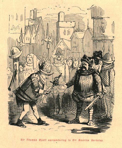 Surrendering「Sir Thomas Wyatt Surrendering To Sir Maurice Berkeley」:写真・画像(6)[壁紙.com]