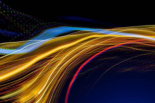 Light Trail「Streaming Data Technology Light Trails」:スマホ壁紙(6)
