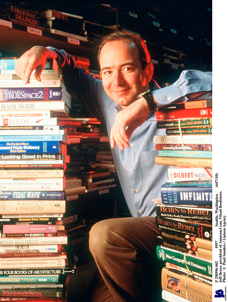 Founder「Jeff Bezos Founder & CEO Of Amazon Com Poses For Portrait January 1 1997 In Seattle W」:写真・画像(19)[壁紙.com]