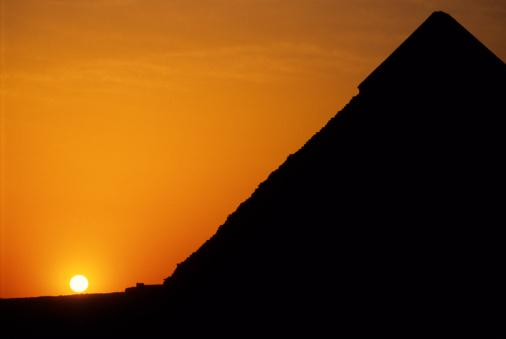 Ancient Civilization「Pyramids at Sunset」:スマホ壁紙(18)