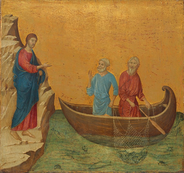 Fisherman「The Calling Of The Apostles Peter And Andrew」:写真・画像(8)[壁紙.com]
