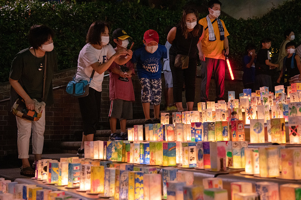 Anniversary「Nagasaki Prepares For 75th Anniversary Of Atomic Bombing」:写真・画像(9)[壁紙.com]
