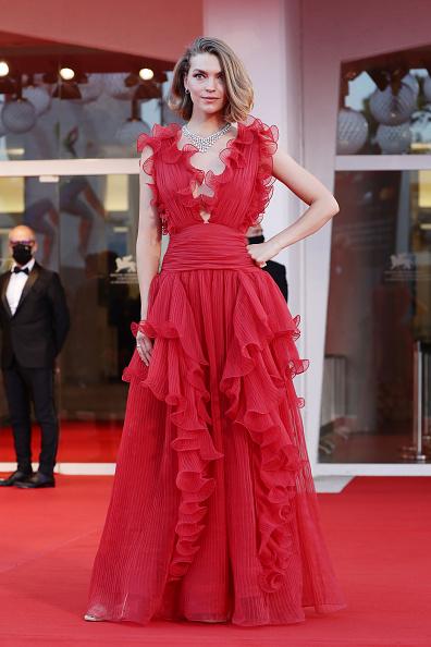 "Venice International Film Festival「""Miss Marx"" Red Carpet - The 77th Venice Film Festival」:写真・画像(4)[壁紙.com]"