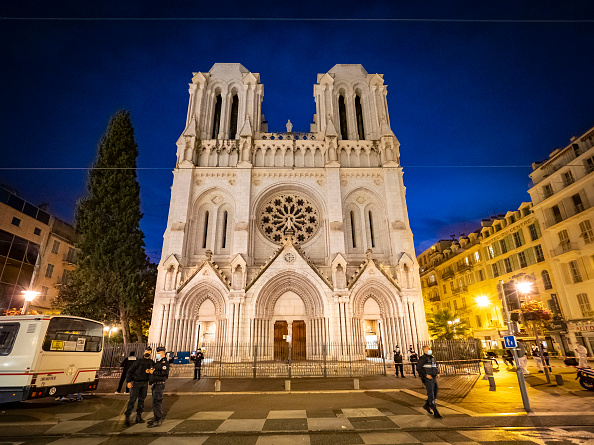バシリカ「Nice Church Terrorist Attack Aftermath」:写真・画像(1)[壁紙.com]