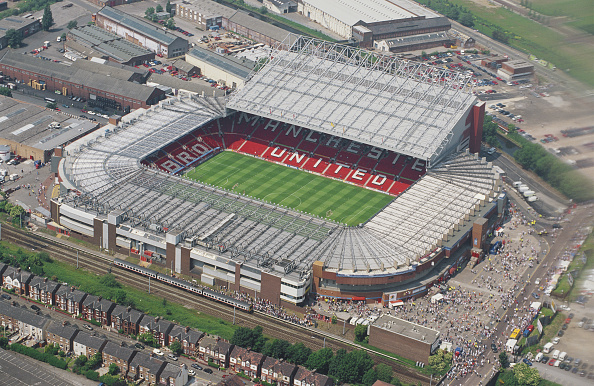 Aerial View「Aerial View Old Trafford Home of Manchester United FC 1996」:写真・画像(11)[壁紙.com]