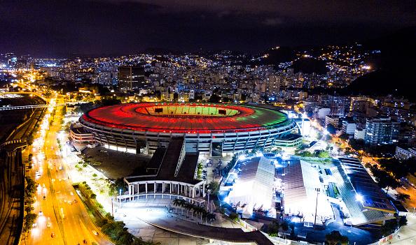 Viewpoint「Maracana Stadium Celebrates its 70th Anniversary Amidst the Coronavirus (COVID - 19) Pandemic」:写真・画像(9)[壁紙.com]