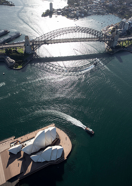 International Landmark「Aerial Views Of Sydney As Australia Sees Steady Decline In New Coronavirus Cases」:写真・画像(13)[壁紙.com]