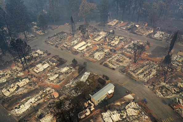 California「California Town Of Paradise Devastated By The Camp Fire Continues Search And Recovery Efforts」:写真・画像(7)[壁紙.com]