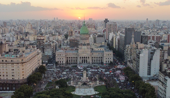 Buenos Aires「Women Protest in Buenos Aires on International Women's Day」:写真・画像(17)[壁紙.com]