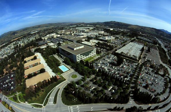 Aerial View「SILICON VALLEY ECONOMY BOOMS」:写真・画像(3)[壁紙.com]
