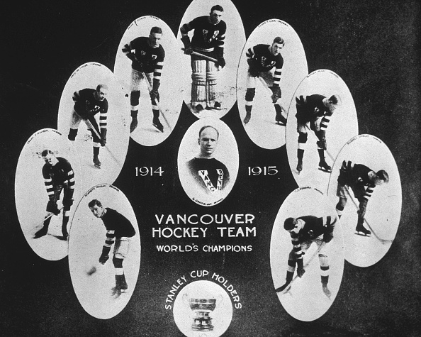 NHL Award「Team Portrait Of Vancouver Millionaires」:写真・画像(1)[壁紙.com]