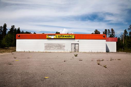 Parking Lot「Abandoned Supermarket」:スマホ壁紙(12)
