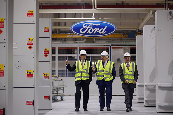 Engine「Mayor Boris Johnson Visits The News State Of The Art Ford Production Line」:写真・画像(5)[壁紙.com]