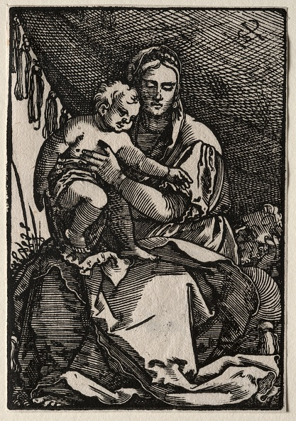 1900「The Holy Family Under A Tent. Creator: Hans Sebald Beham (German」:写真・画像(11)[壁紙.com]