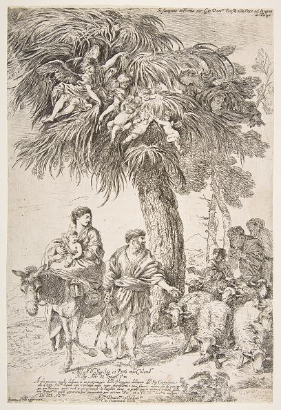 Virgin Mary「The Holy Family On Their Flight Into Egypt」:写真・画像(12)[壁紙.com]