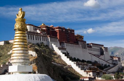 Himalayas「Potala Palace. Tibet.」:スマホ壁紙(14)