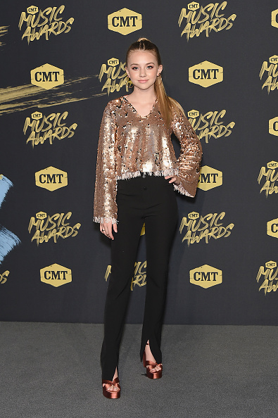 Metallic Shoe「2018 CMT Music Awards - Arrivals」:写真・画像(11)[壁紙.com]