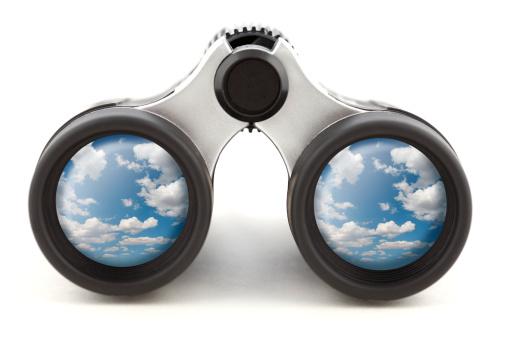 Binoculars「Binoculars Reflecting the Sky」:スマホ壁紙(11)