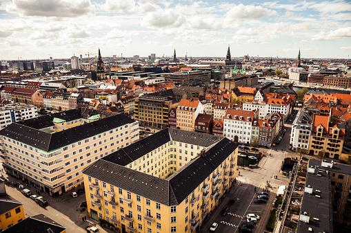 Danish Culture「Copenhagen skyline and towers」:スマホ壁紙(4)