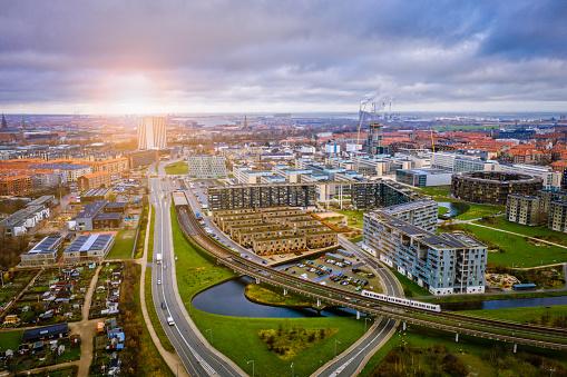 Danish Culture「Copenhagen cityscape: Modern architecture at the sea」:スマホ壁紙(1)