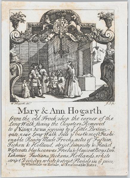 18th Century Style「Trade Card Of Mary & Ann Hogarth」:写真・画像(6)[壁紙.com]