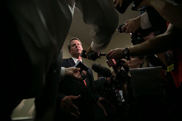 Governor「Georgia Secretary of State And Gubernatorial Candidate Brian Kemp Holds Primary Night Event In Athens, Georgia」:写真・画像(5)[壁紙.com]