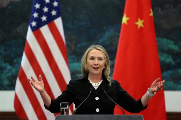 Secretary Of State「U.S. Secretary of State Hillary Clinton Visits China」:写真・画像(11)[壁紙.com]
