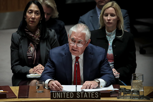Drew Angerer「Tillerson, Foreign Ministers Attend UN Security Council Meeting On N. Korea」:写真・画像(18)[壁紙.com]