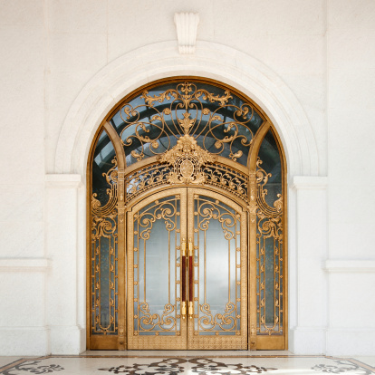 Door「Art nouveau door」:スマホ壁紙(11)