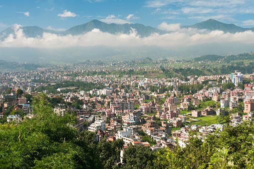 Nepal「Kathmandu, city view」:スマホ壁紙(10)
