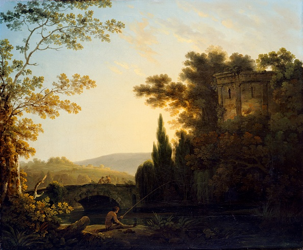 Painting - Activity「Classical Landscape With A Temple,」:写真・画像(5)[壁紙.com]