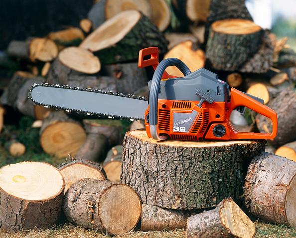 Cutting「Logs and chainsaw」:写真・画像(6)[壁紙.com]