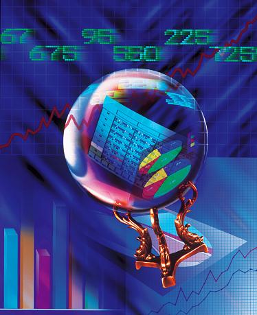 Economic fortune「Financial Crystal Ball」:スマホ壁紙(19)