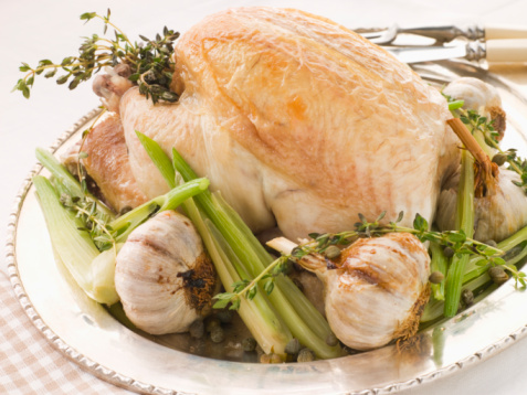 Fennel「40 Clove of Garlic Roasted Chicken with Baby Spring Vegetables」:スマホ壁紙(0)
