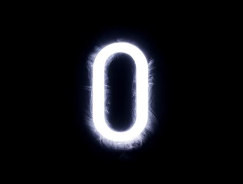 Zero「Alphabet black background」:スマホ壁紙(15)