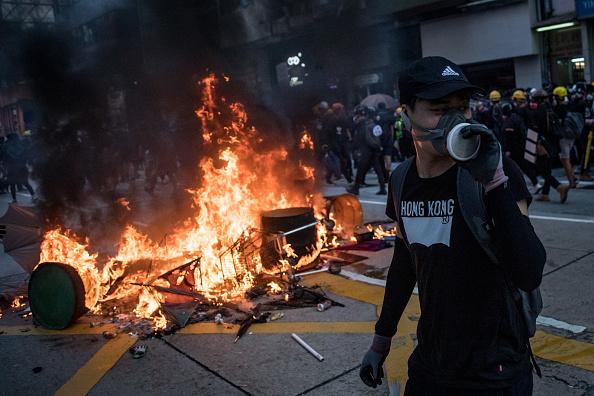 Photography「Hong Kong Marks China's National Day」:写真・画像(17)[壁紙.com]