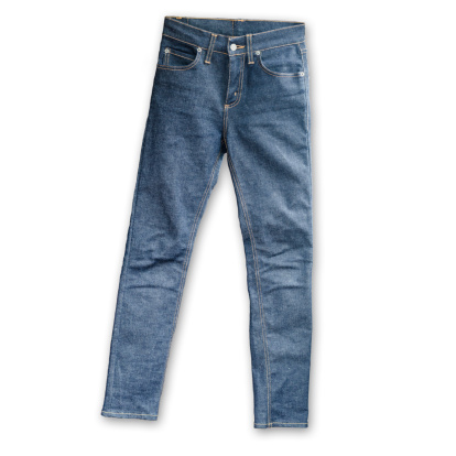 Sewing「Skinny Tight  Blue Jeans  on white background」:スマホ壁紙(14)