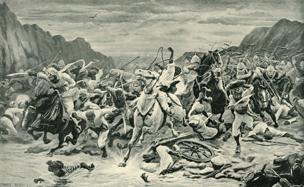 Horse「The Victory Of Kandahar (Cavalry Pursuit To The Arghandab River)」:写真・画像(10)[壁紙.com]