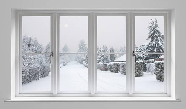 winter morning through white windows:スマホ壁紙(壁紙.com)