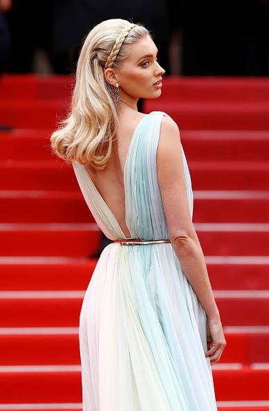 "Chiffon「""A Hidden Life (Une Vie Cachée)"" Red Carpet - The 72nd Annual Cannes Film Festival」:写真・画像(5)[壁紙.com]"