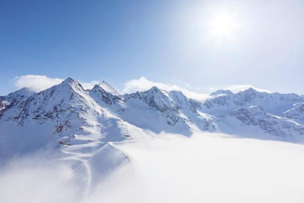 Austria, Kuehtai, mountainscape in winter:スマホ壁紙(壁紙.com)