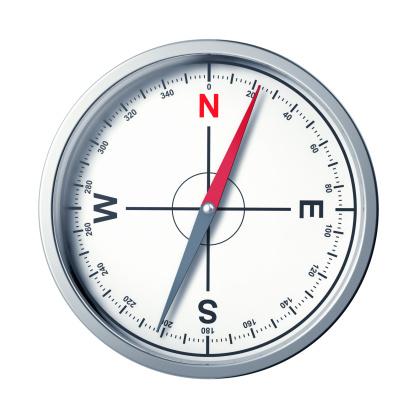 Navigational Compass「Modern compass on a white background」:スマホ壁紙(15)