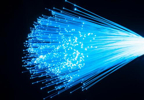 Connection「Fiber optic glowing, studio shot」:スマホ壁紙(7)
