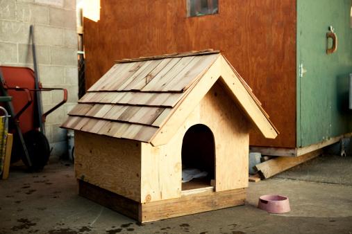 Carpentry「Wooden dog house」:スマホ壁紙(5)