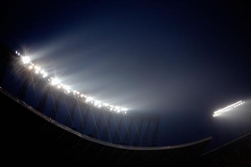 Floodlight「Stadium floodlights at night time, Beijing, China」:スマホ壁紙(1)