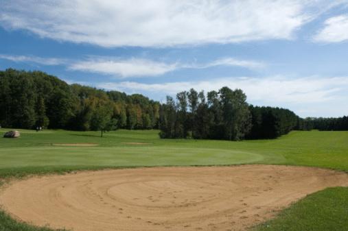 Sand Trap「Sand trap on golf course」:スマホ壁紙(11)