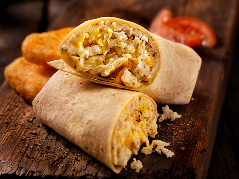 Burrito「Scrambled Egg and Cheese Breakfast Wrap」:スマホ壁紙(8)
