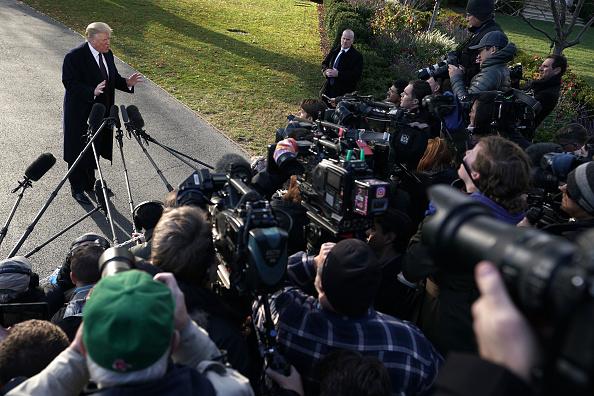 The Media「President And Mrs. Trump Depart White House For Mar-A-Lago Thanksgiving Break」:写真・画像(0)[壁紙.com]
