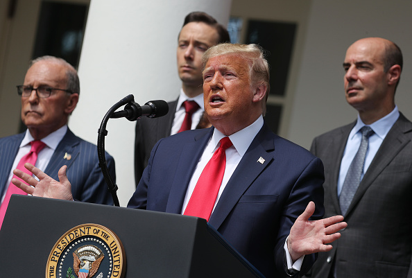 Four People「President Trump Holds A News Conference At The White House」:写真・画像(9)[壁紙.com]